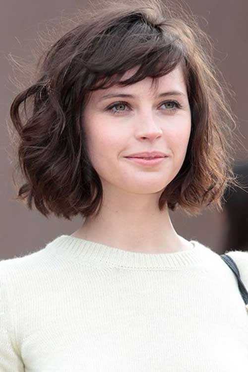 Hairstyles for Short Hair with Bangs-17