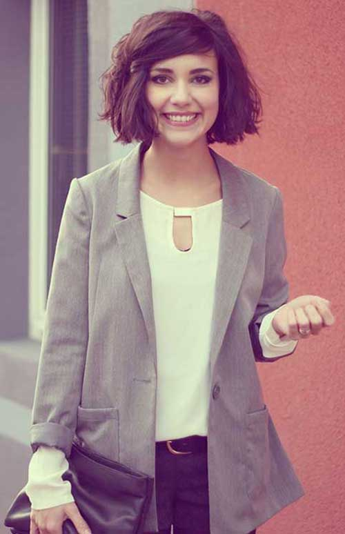 Cute Ways To Style Short Hair-18