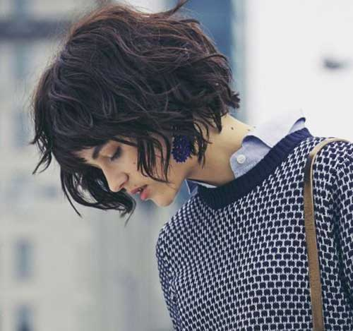 Short Wavy Hair-19