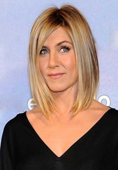 20 Jennifer Aniston Long Bob | Short Hairstyles & Haircuts ...