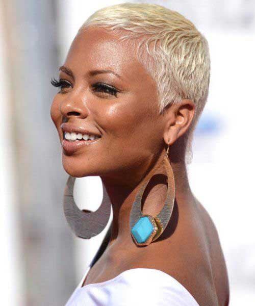 21.Short Hairstyle for Black Women