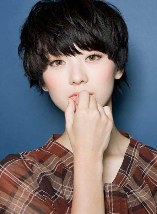 4. Asian Pixie Cut