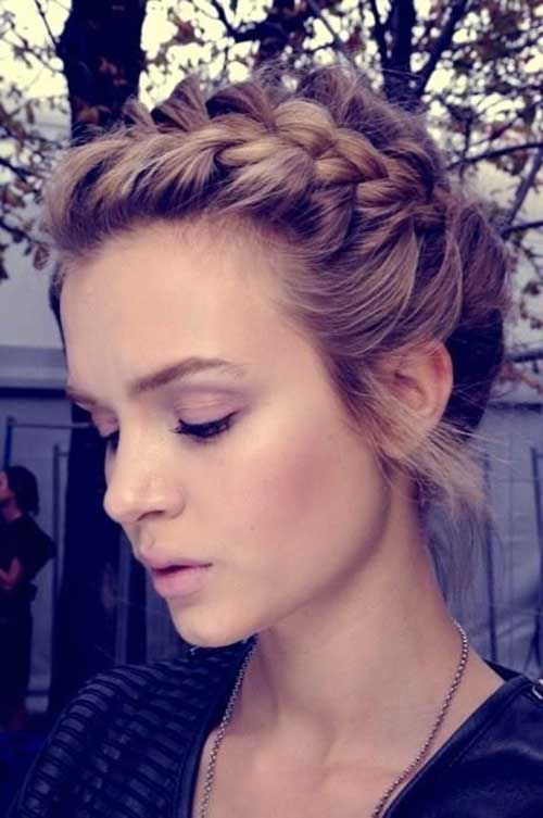 5. Hair Braid For Short Hair