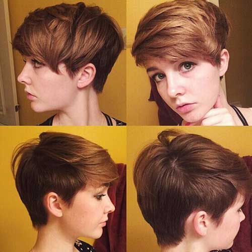 6. Latest Short Haircut