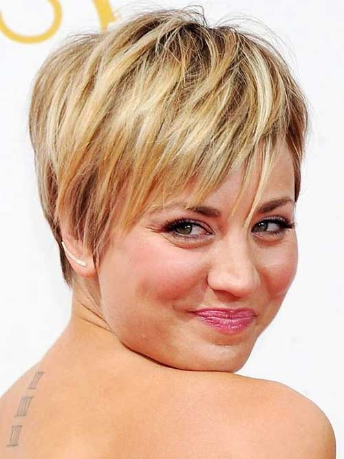 15 Top Short Haircuts for Round Faces