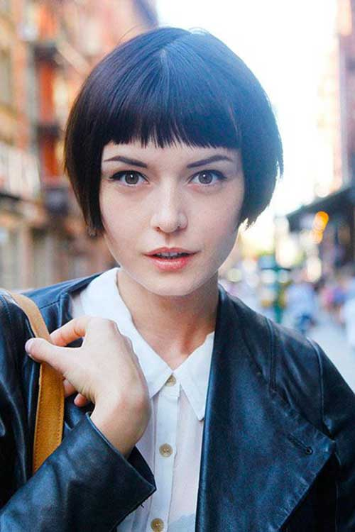 6.Cute Way To Style Short Hair