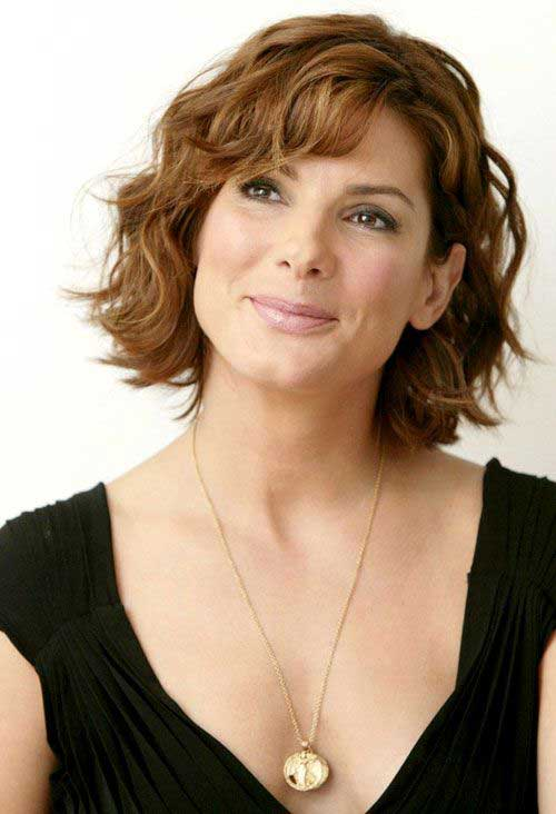 Hairstyles for Short Hair with Bangs-6