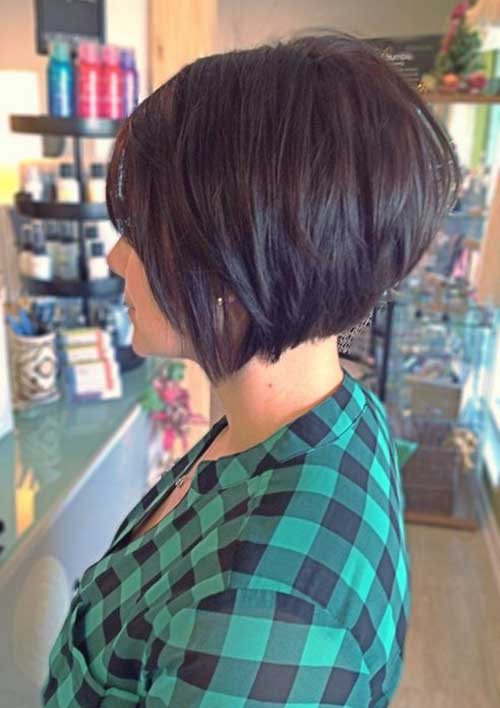 Hairstyles for Short Layered Hair-6