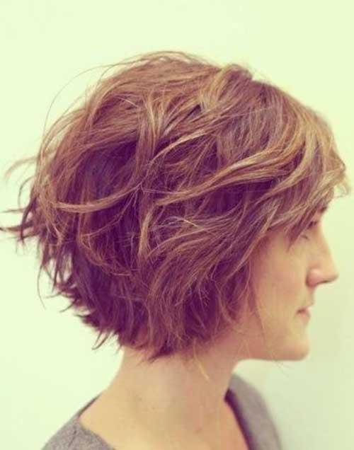 Short Wavy Hair-6