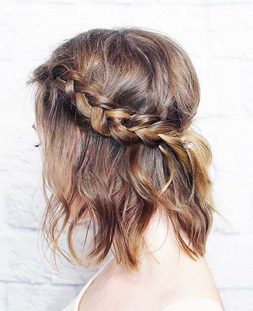 Braided Hairstyles For Short Hair-8