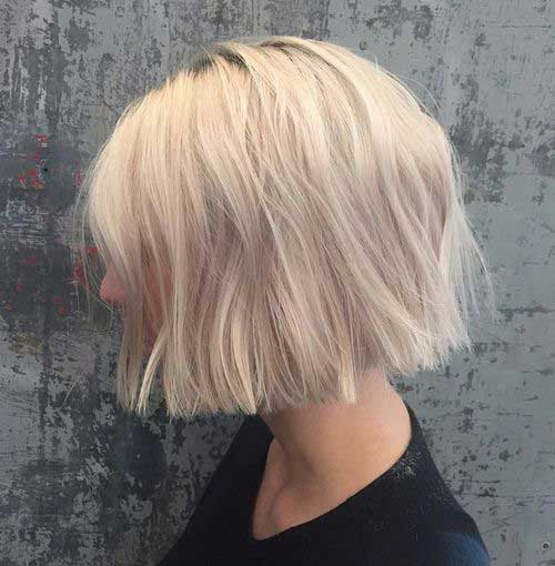 Short Blond Hair-8