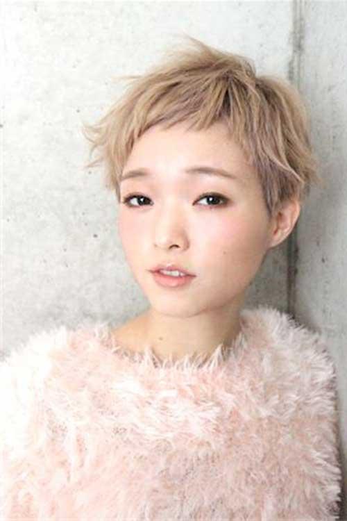 9. Cute Asian Pixie Cut
