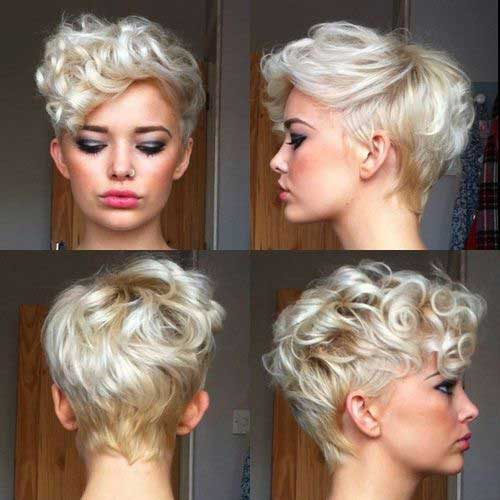 9.Hairstyle for Short Hair with Bangs