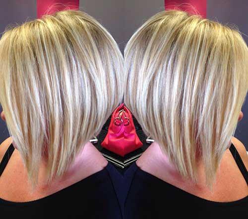 Short Blond Hair-9