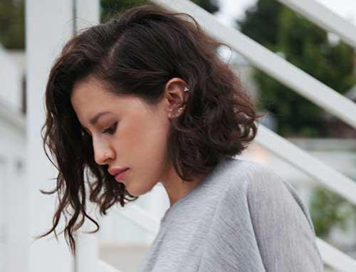 Short Wavy Hair-9