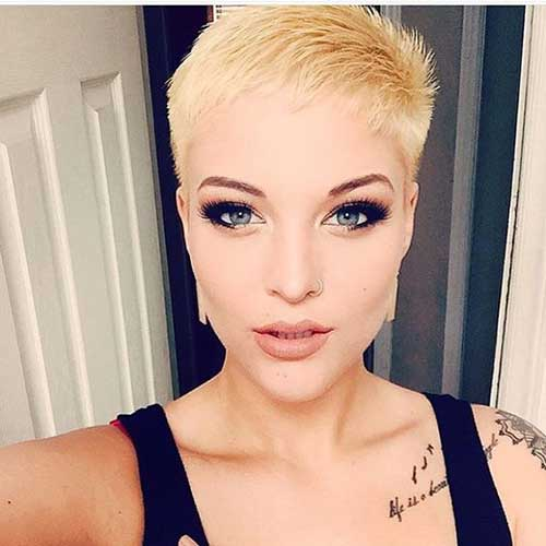 All Ladies Beloved Blonde Short Hairstyles Short