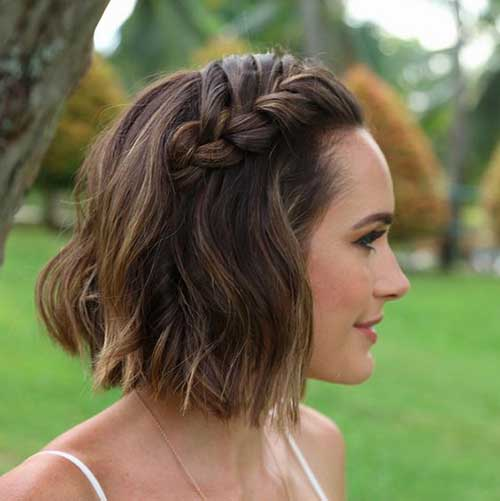 Cute Way To Style Short Hair