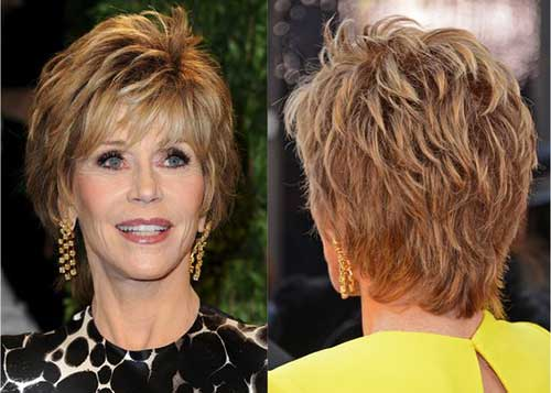 Older Women Short Hair