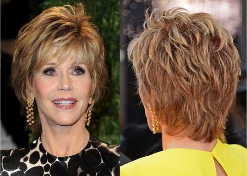 Older Women Short Hair
