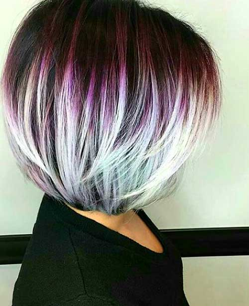Various Short Hair Color Ideas You Will Love Short