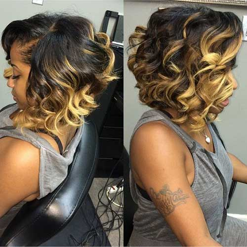 Short Hairstyles for Black Women-10