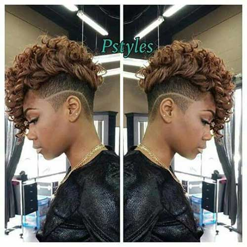 Short Hairstyles for Black Women-11