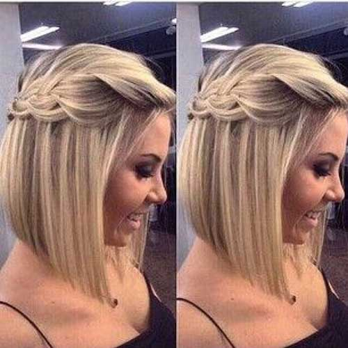 12.Cute Hairstyle for Short Hair
