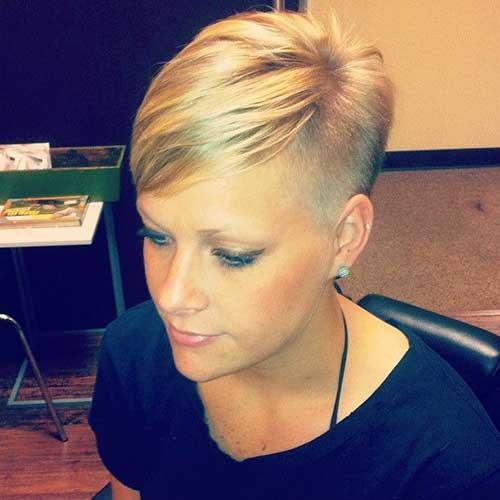 Short Blonde Hairstyles-12