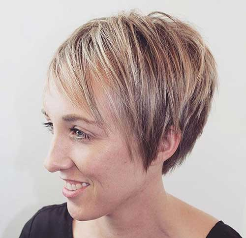 Short Hairstyles for Thin Hair-12