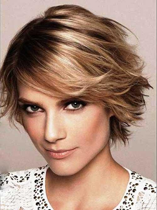 12.Trendy Layered Short Haircut