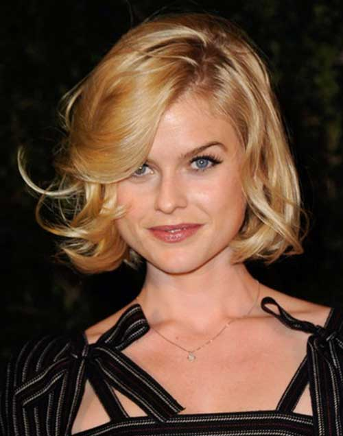 Short Wavy Hairstyle-13