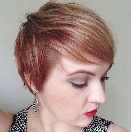 Short Hairstyles for Thin Hair-13