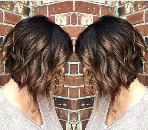 Wavy Short Hair Styles-14