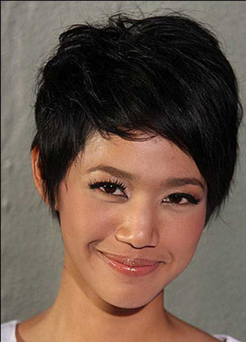 Dark Short Hair Colors-14