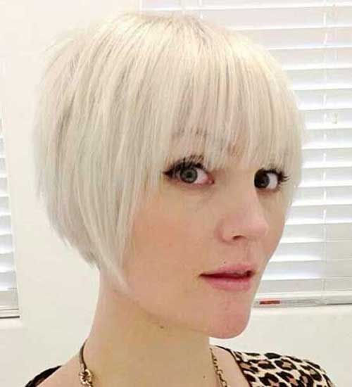 Hairstyles for Girls with Short Hair-14