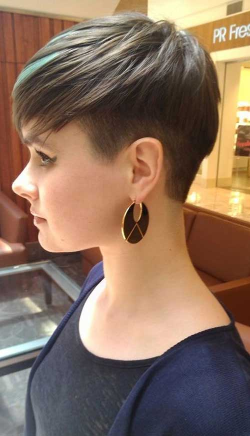 14.Short Hairstyles for Thin Hair