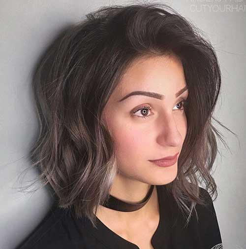 Wavy Short Hair Styles-15