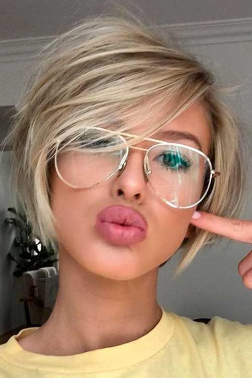 Short Blonde Hairstyles-15