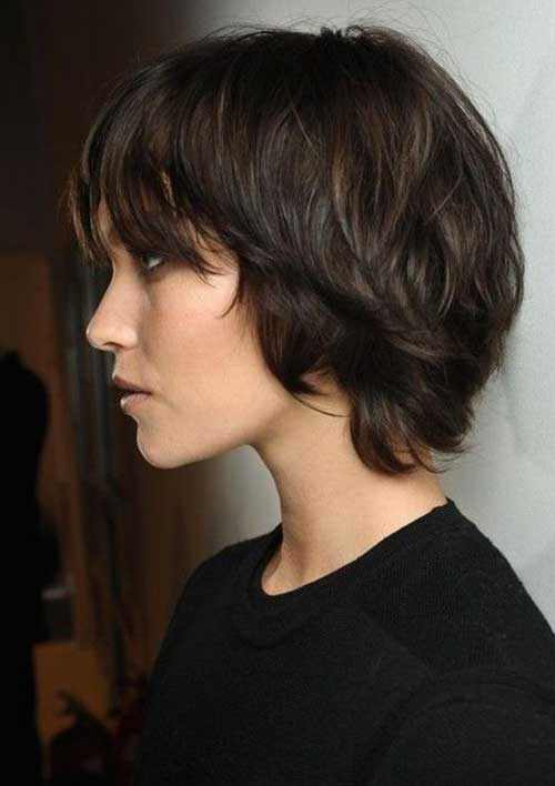 15.Short Hairstyles for Thin Hair