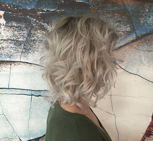 Wavy Short Hair Styles-16