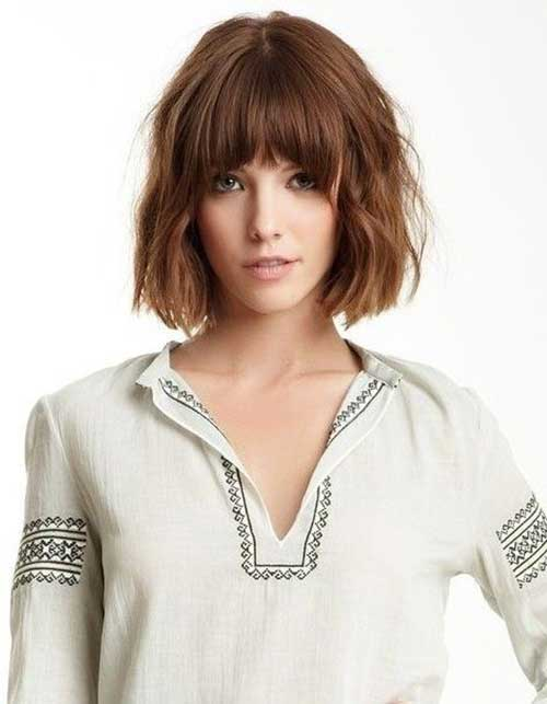 Hairstyles for Girls with Short Hair-16