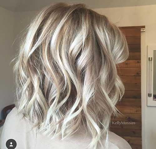 Wavy Short Hair Styles-17