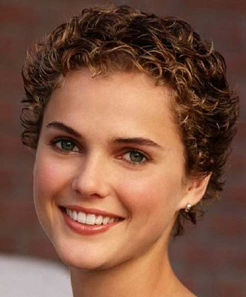 Short Curly Hairstyles-18