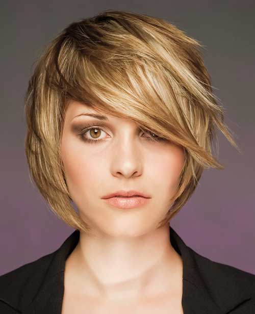 Layered Short Haircuts-19