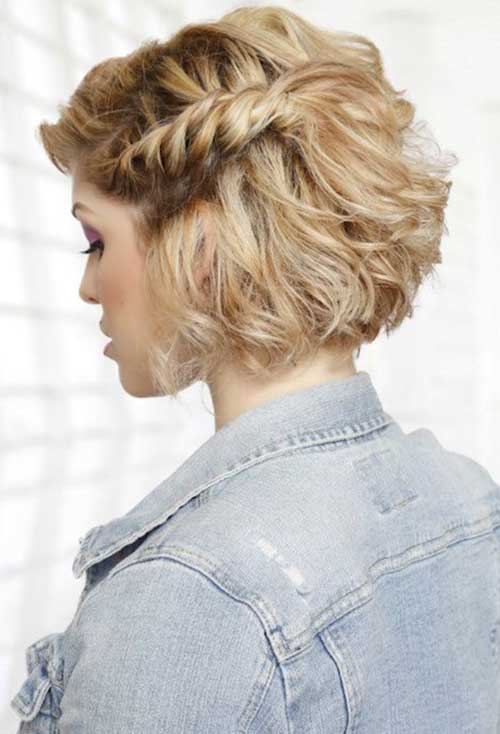 Cute Hairstyles for Short Hair-20
