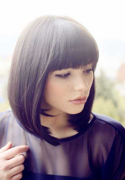 Short Haircuts with Bangs-21