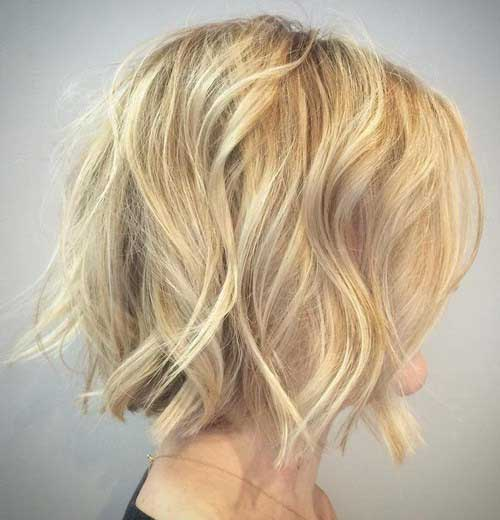 Short Wavy Hairstyle-6