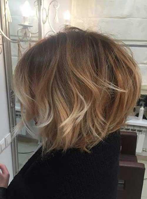 6.Trendy Layered Short Haircut