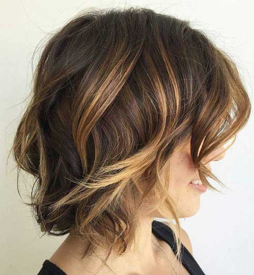 Short Wavy Hairstyle-7