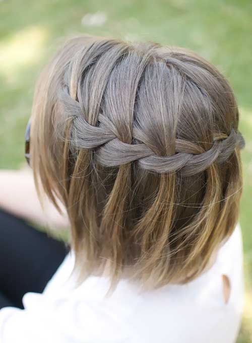 7.Cute Hairstyle for Short Hair